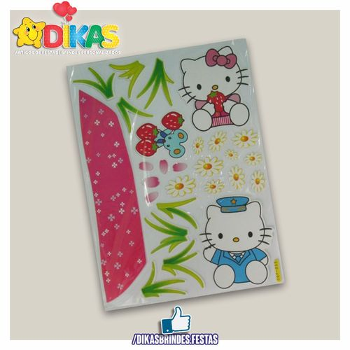 Autocolantes Decorativos Hello Kitty