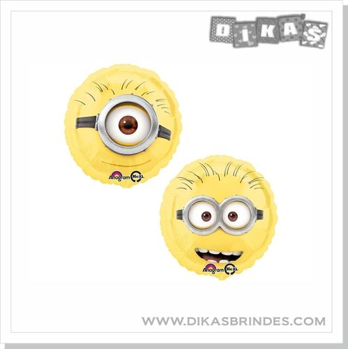 BALÃO FOIL DOUBLE-SIDED MINION